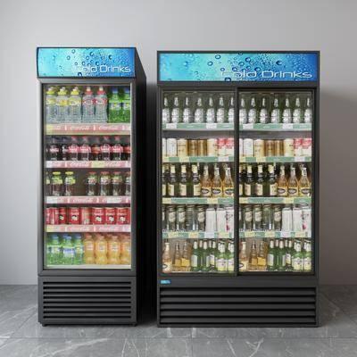 饮料, 饮料机, 冰箱, 冰柜