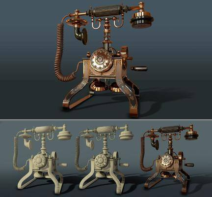电话机, 家用电器, 欧式