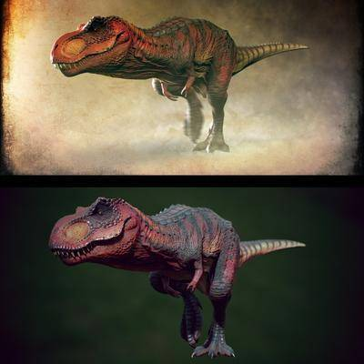 恐龙, 动物