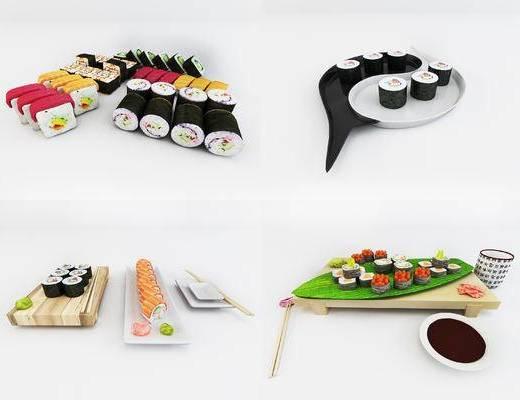 日式寿司, 食物模型