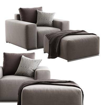 沙发, 脚踏, 脚凳