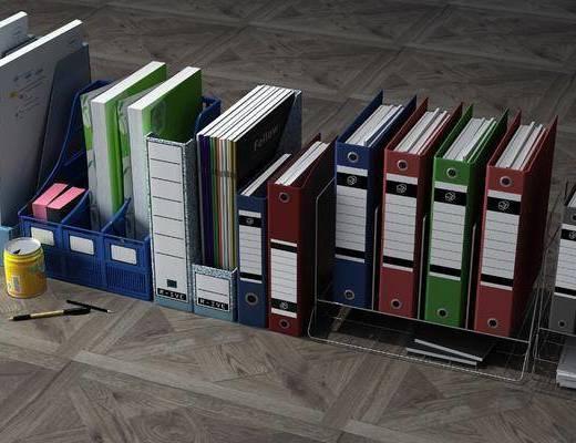文件夹, 办公用品, 现代