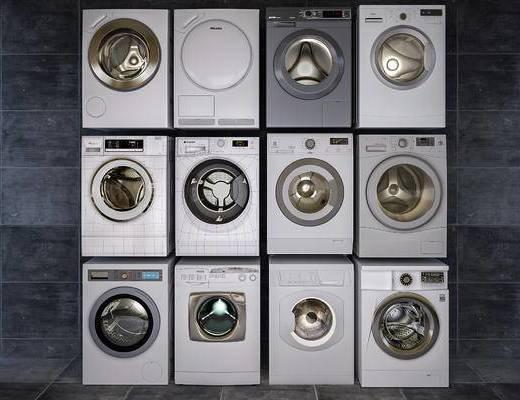 洗衣机, 家用电器