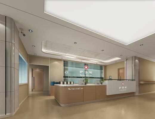 医院, 护士站, 现代