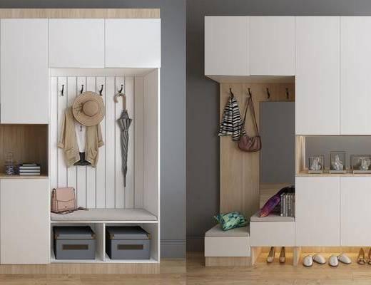 鞋柜, 衣柜, 现代