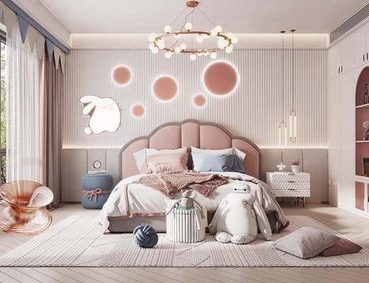 现代儿童房, 卧室
