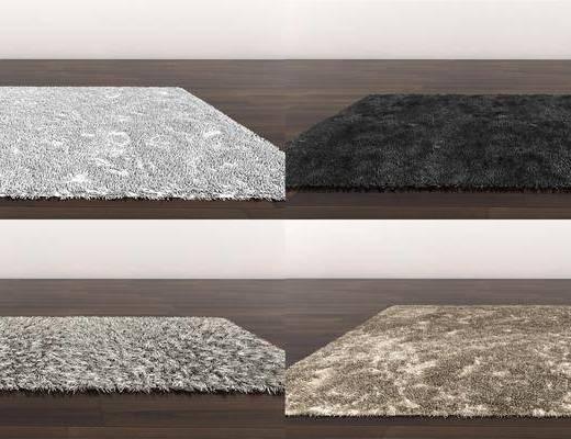 地毯, 绒毛地毯, 现代地毯