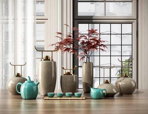 陶瓷花瓶, 陶瓷装饰, 陶瓷器皿