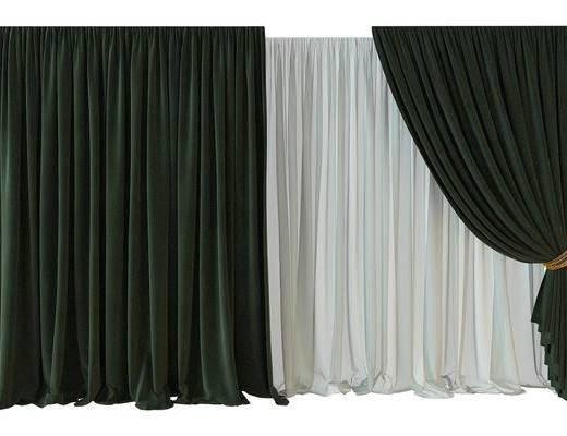 窗帘, 现代