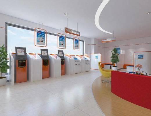 银行自助, 自助外放机器, 现代