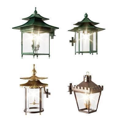 壁灯, 壁灯组合, 欧式, 欧式壁灯