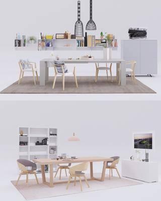 北歐餐桌, 餐桌, 餐桌椅, 桌椅組合