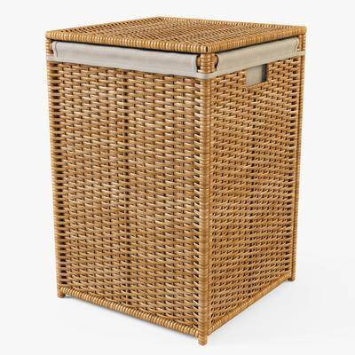 现代, 竹篮, 收纳箱