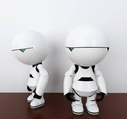 黑白智能, 机器人, 智能机器, 现代