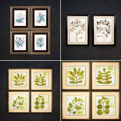 挂画, 植物挂画, 现代