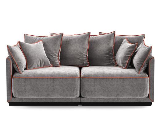 现代简约, 沙发, 双人沙发, corona
