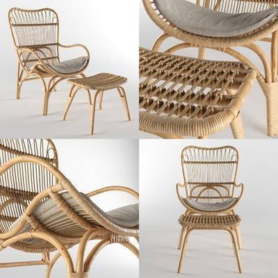藤编椅, 椅子, 休闲椅, 户外椅