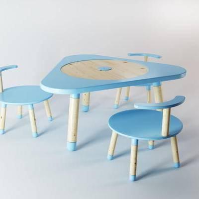 现代, 桌椅, 儿童椅