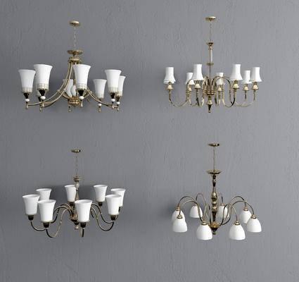 吊灯, 金属吊灯, 美式吊灯, 欧式吊灯