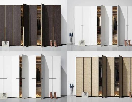 衣柜, 装饰柜, 边柜, 现代