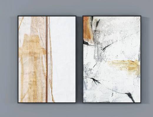 现代新中式装饰画, 挂画, 墙饰