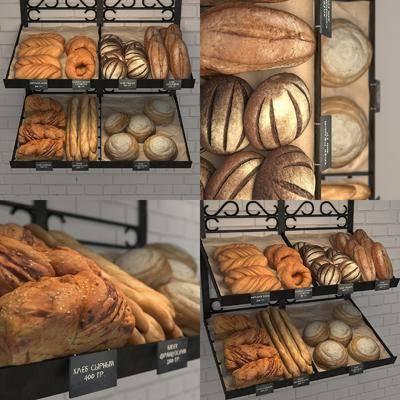 商展货架, 食物, 现代
