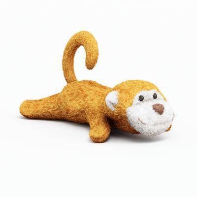 玩具, 猴子, 玩偶, 布偶