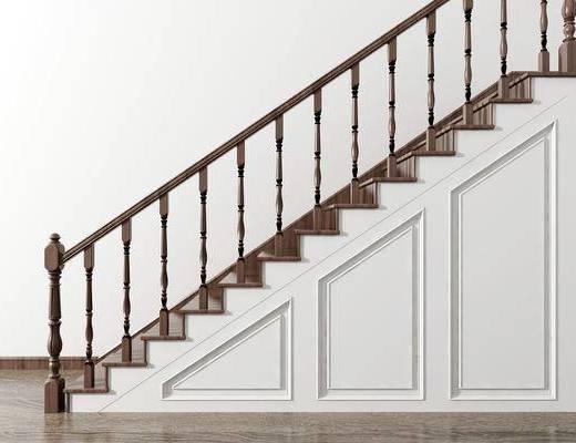 楼梯组合, 简欧