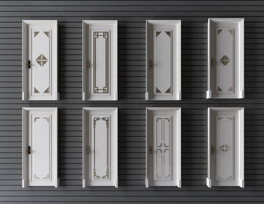 新中式门, 门, 中式门
