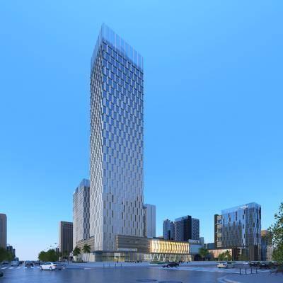 现代, 建筑, 高楼
