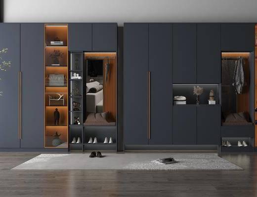 鞋柜, 柜架, 組合