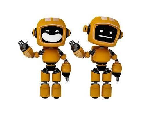 现代, 机器人, 摆件