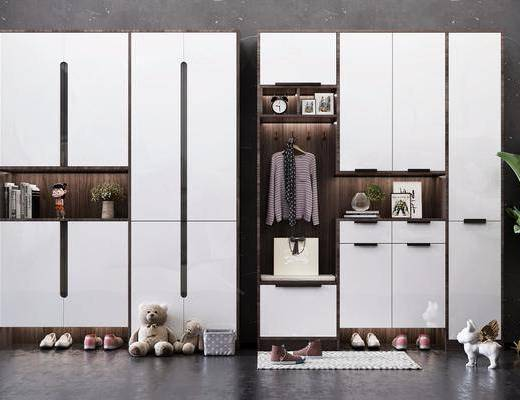装饰品, 摆件, 鞋柜, 置物柜, 衣柜