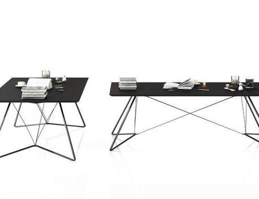 书桌, 书籍, 现代