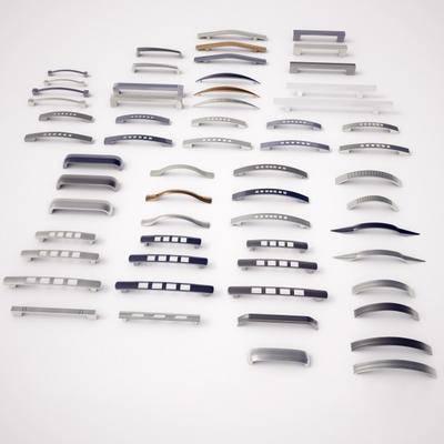 现代不锈钢拉手, 现代, 拉手, 门把手, 金属把手
