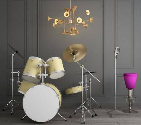 现代乐器, 乐器, 架子鼓