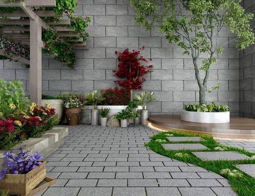 现代花园, 花园, 景观