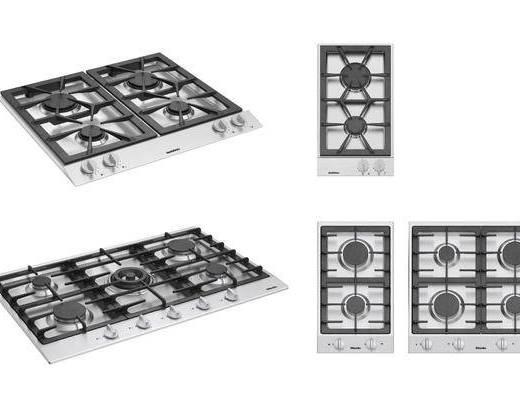 煤气灶, 厨具, 现代
