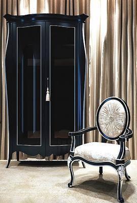 欧式衣柜, 欧式, 衣柜, 欧式椅子, 椅子
