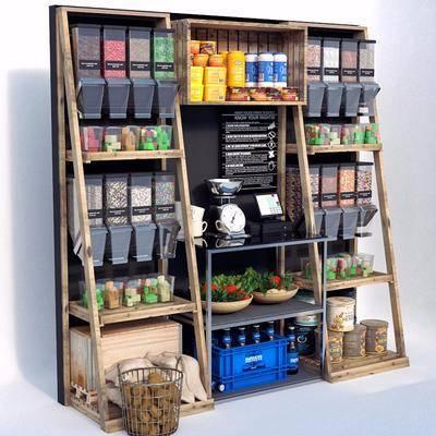柜架组合, 商品柜, 展示柜