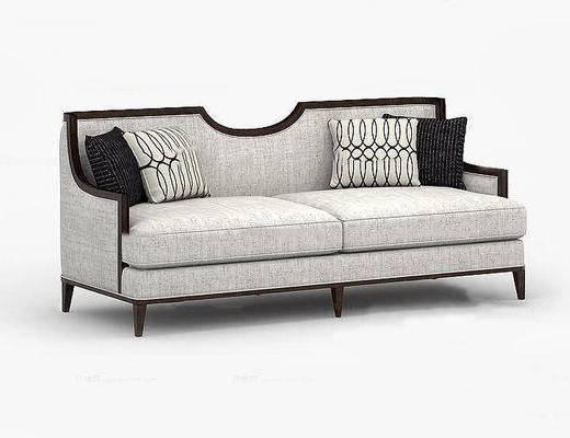 美式简约, 双人沙发, 美式沙发