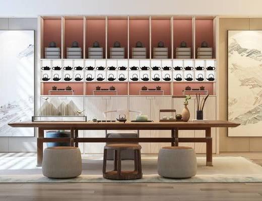 新中式, 茶室