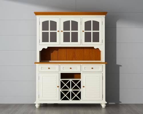橱柜, 酒柜, 边柜, 美式柜, 木柜