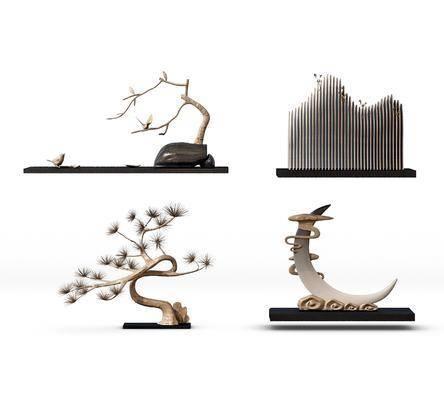 雕塑, 摆件组合, 装饰品