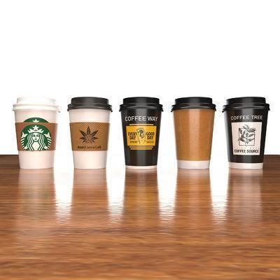 外卖杯, 咖啡杯