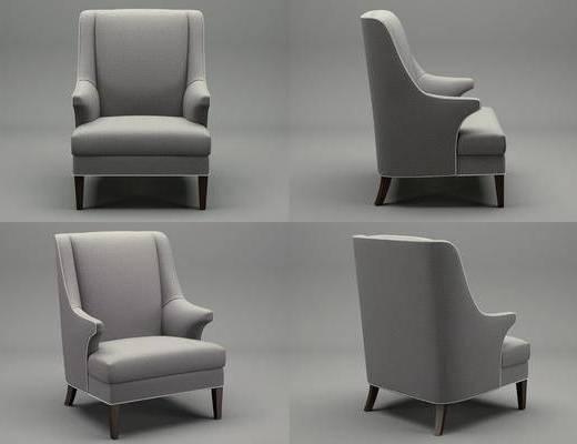 單人沙發, 沙發, 現代沙發