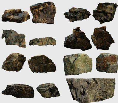 石头, 石块, 现代石头