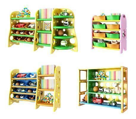 装饰柜, 装饰架, 收纳边柜, 儿童玩具, 现代