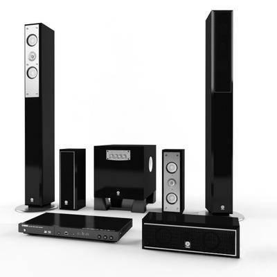 音响, 影碟机, 现代