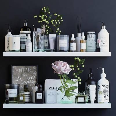 化妆品, 香氛, 牡丹, 盆栽, 洗浴用品, 现代